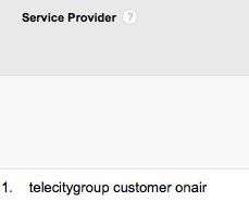 Google Analytics OnAir wifi